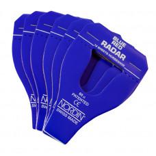 Radar Blue Red Articulating Paper U Shaped