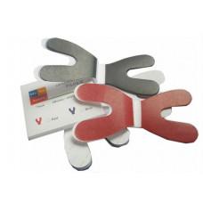 clear soft articulating paper U Shape pieces