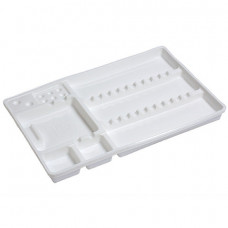 Disposable Plastic Instrument Tray Large - 100 trays-
