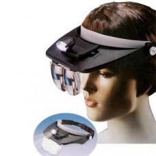 Light Head Magnifying Glass