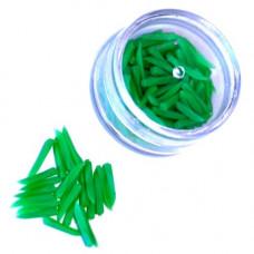 Dental Wedges Plastic _Green_