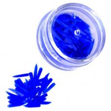 Dental Wedges Plastic _Blue_